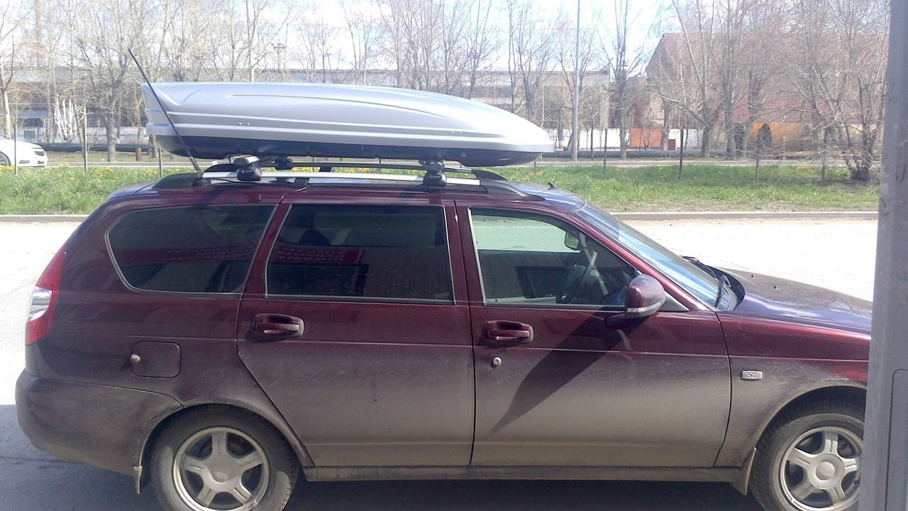 Багажник на крышу приора универсал своими руками