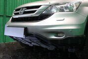Защита радиатора Honda CR-V III 2010-2012 black