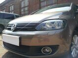 Защита радиатора Volkswagen Golf Plus 2009- black