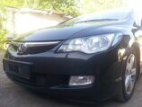 Защита радиатора Honda Civic 4D VIII 2006-2008 black