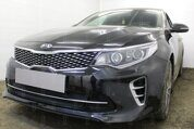 Защита радиатора KIA Optima 2015- (GT / GT-Line) black